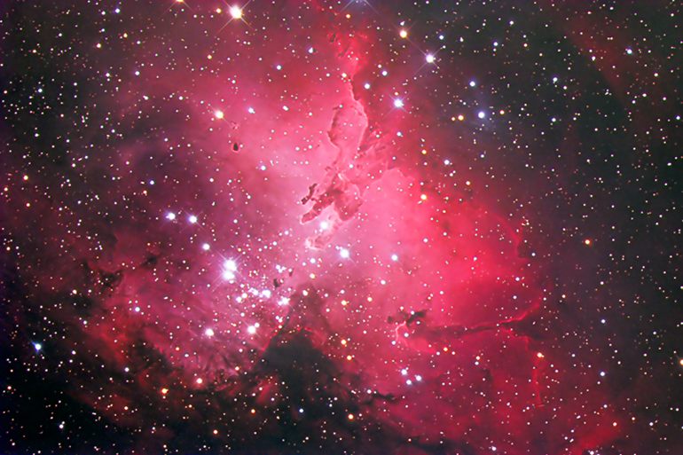 The Eagle Nebula, M16. This is my first full color CCD image. This image is the result of countless hours with PhotoShop CS2