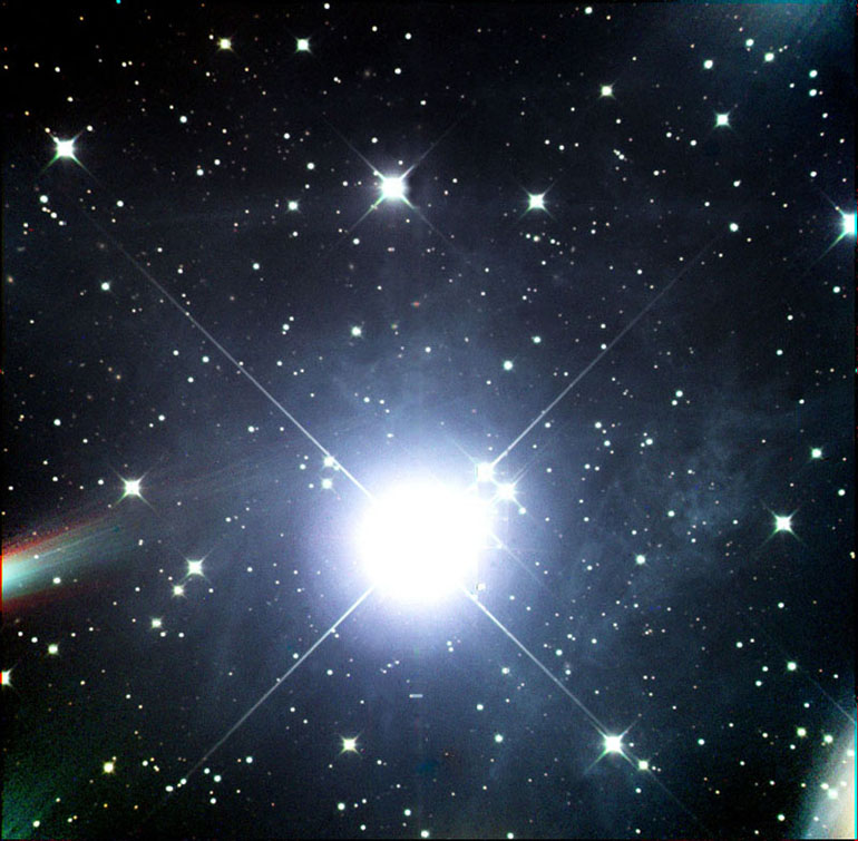 M45 - The Star Alcyone, Member of The Pleiades