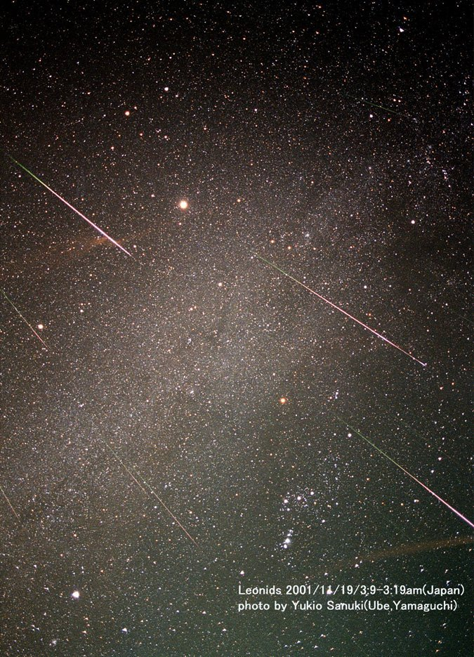Meteor Shower - The Leonids