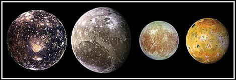 Jupiter - The Galilean Moons