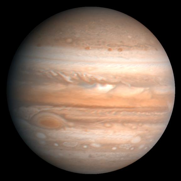 Jupiter as seen from Voyager